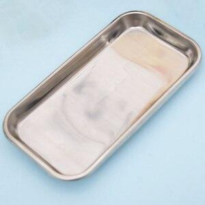 Image 5 - 1pc aço inoxidável bandeja de armazenamento comida prato frutas utensílios de mesa médico cirúrgica dental bandeja acessórios cozinha