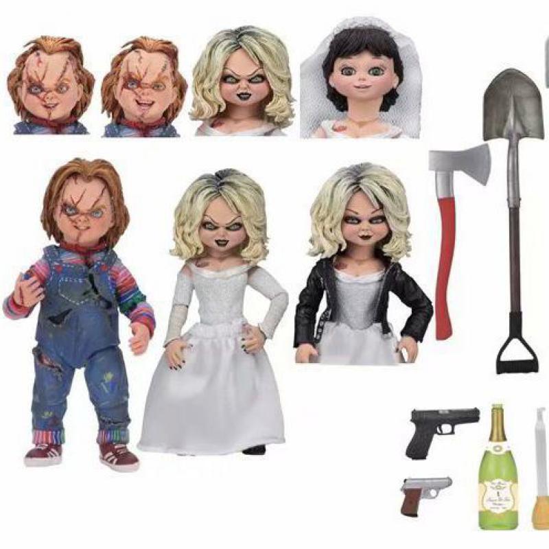 NECA Chucky Gelin Eylem Rakamlar BJD Tahsil Oyuncaklar 16 cmNECA Chucky Gelin Eylem Rakamlar BJD Tahsil Oyuncaklar 16 cm