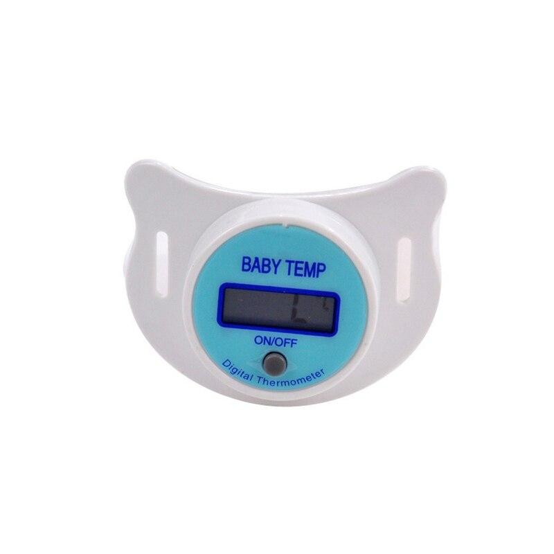 1 St Nieuwe Praktische Baby Tepel Fopspeen LCD Digitale Mond Tepel Fopspeen Thermometer Baby Kids Care Producten 4