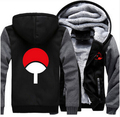 Anime Thicken Hoodie Coat NARUTO Akatsuki Cosplay Jacket Sweatshirts NEW