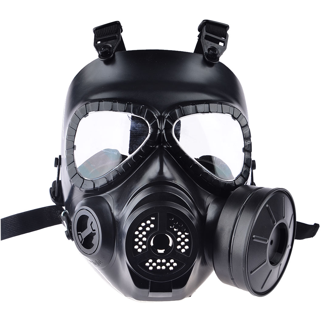 Hot CS Airsoft Paintball Dummy Gasmasker met Fan voor Cosplay bescherming Halloween Evil Antivirus Skull Festival Decor