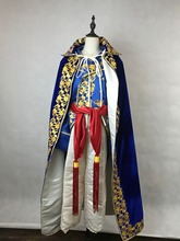 mens period costume embroidery collar cloak Medieval stage performance/Prince charming fairy William /civil war/Colonial Belle