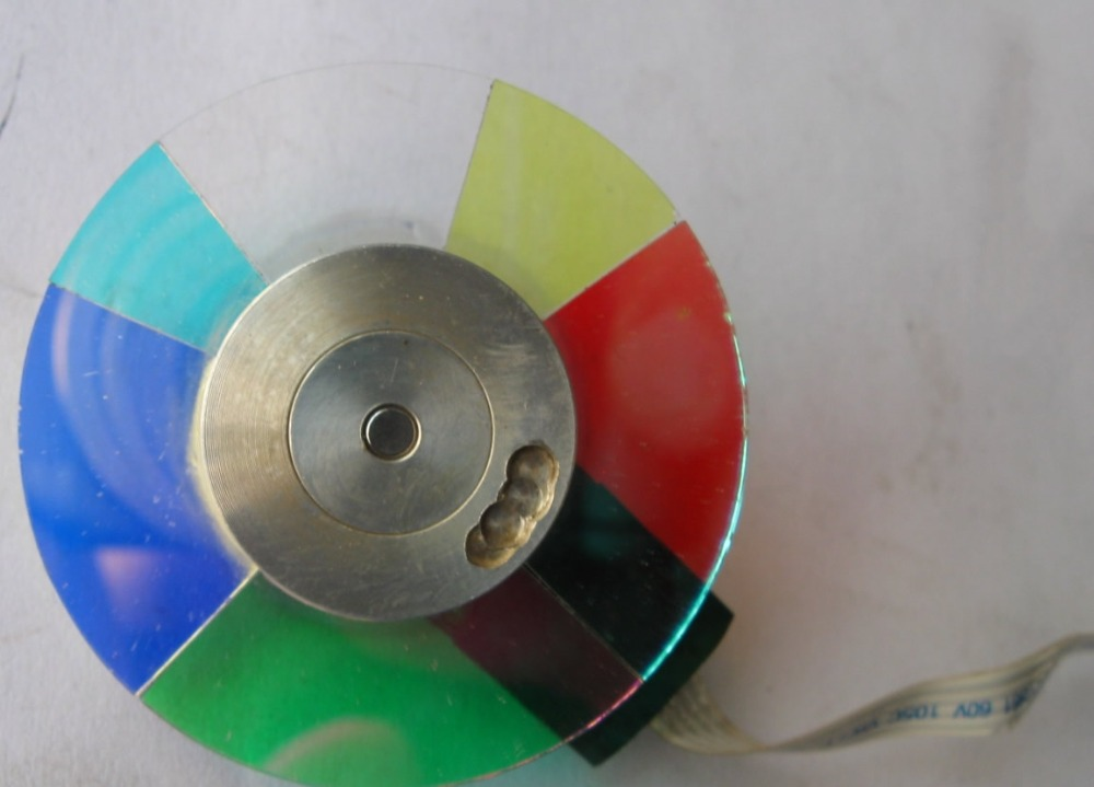 Projector Color Wheel For ViewSonic PJD5111 new original projector color wheel for viewsonic pjd6240 color wheel