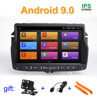 IPS screen Android 9 Car DVD Stereo Radio Player GPS for Lada Vesta with wifi BT