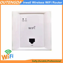 WiFi Extender Roteador 86 Sort in Wall Wi-fi Wi-Fi 802.11n AP Router, Resort Wall-mount Entry Level 2.4GHz