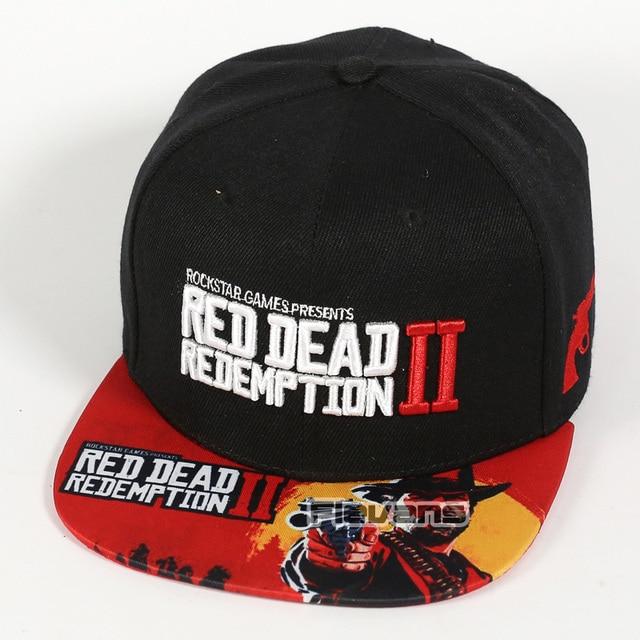 0e6a2b1a72733 Red Dead Redemption 2 marca de moda Snapback gorras Cool moda gorra de  béisbol Bboy hip