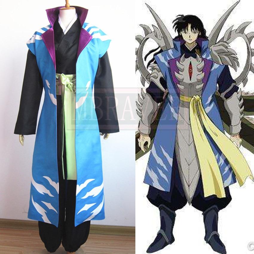 Inuyasha Jakotsu And Naraku: Inuyasha Naraku Cosplay Costume Customize Free Shipping-in