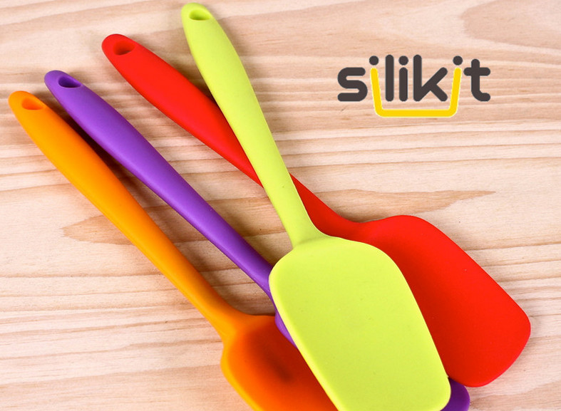 Gratis Pengiriman Peralatan Dapur Silicone Pastry Spatula 21 Cm Ukuran Kecil Alat Baking Di Memanggang Dari Rumah