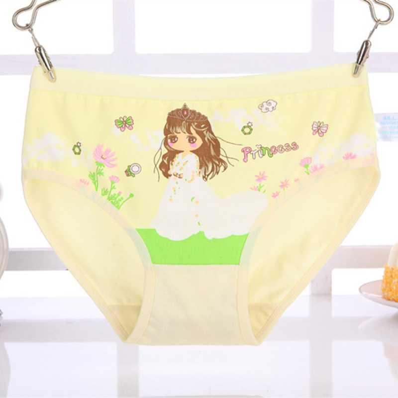 7745c3f7af9 New Cotton Children Panties Fashion Kids Girls' Briefs Female Child  Underwear Cartoon Lovely Underpants For