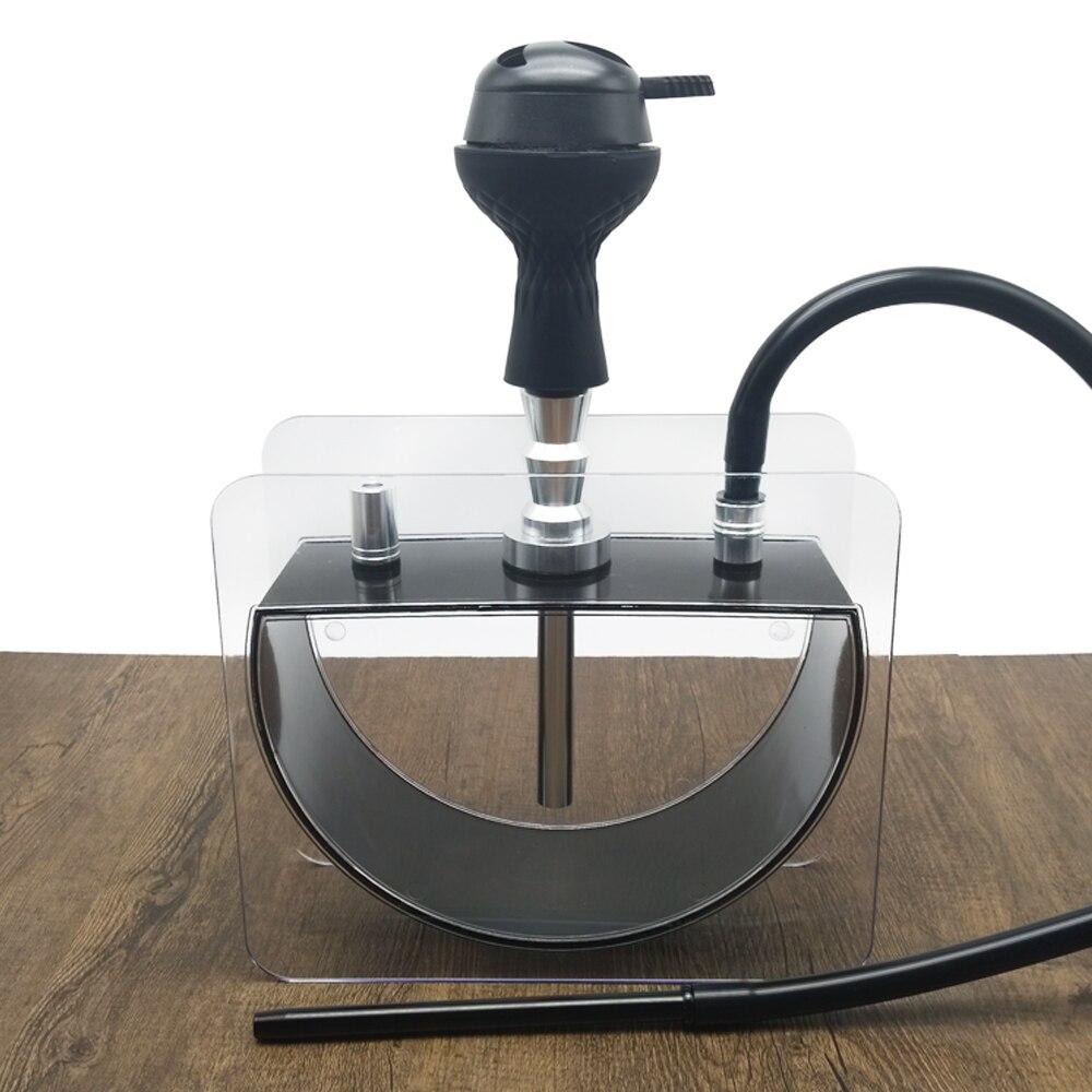 LOMINT Half round Acrylic Hookah Modern Shisha Sheesha Chicha Narguile smoking water pipe Chinese factory wholesale