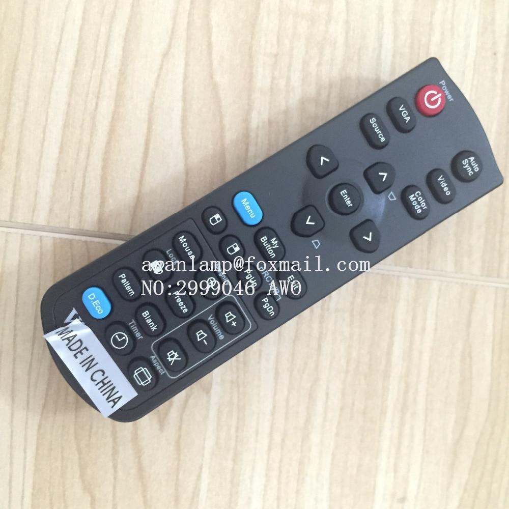 Original REPLACEMENT FIT for ViewSonic PJD7333  PJD5126 PJD5226 PJD5226w PJD6223 PJD6253 PROJECTOR remote control ht7333a 1 7333 1 sot89