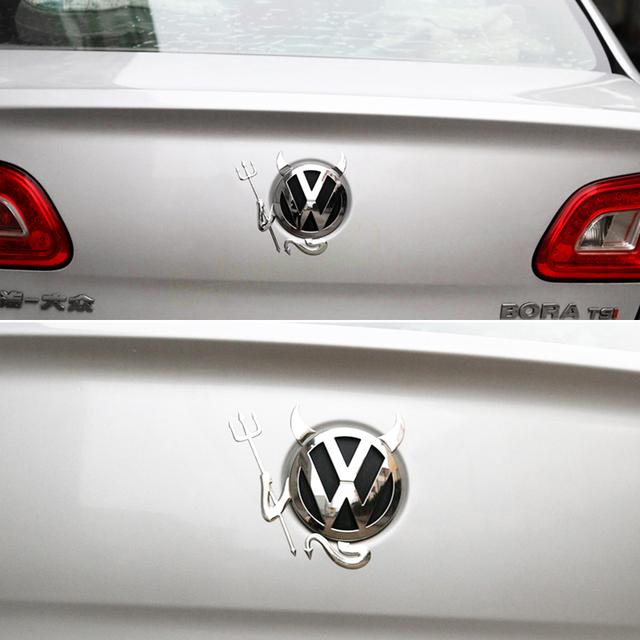 3D Little Devil Car Sticker