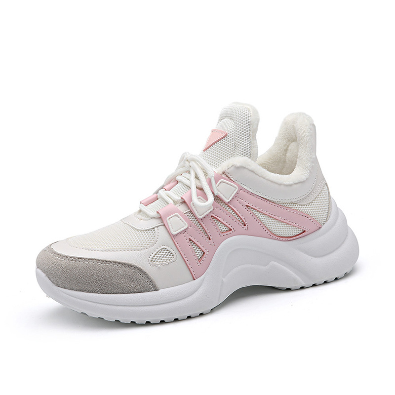 Velvet Velvet Mode Nouveau yellow white Woman2018 Épais blue blue Fond Respirant Chaussures pink white Marque Augmenté Feu Designer Black Maille Velvet Super De yellow White Luxe Femmes black White white pink Plus black Pink nX6wqUwS1