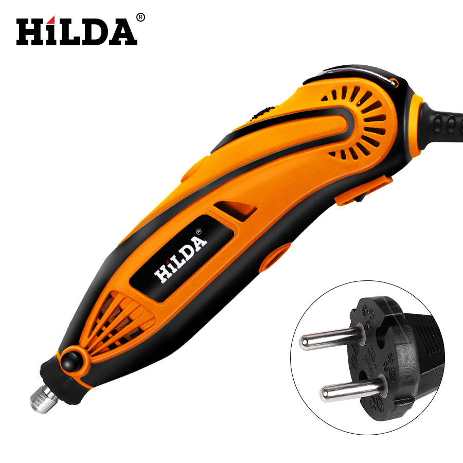 Image 4 - HILDA Electric Drill Dremel Grinder Engraving Pen Grinder Mini Drill Electric Rotary Tool Grinding Machine Dremel Accessories-in Electric Drills from Tools on