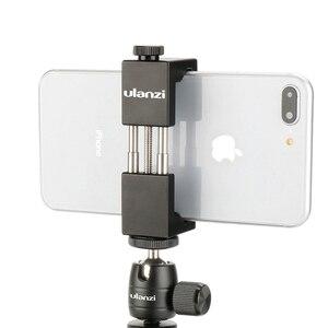 Image 4 - Ulanzi אלומיניום Ballhead 360 סיבוב כדור ראש LED צג סוגר בעל עבור iPhone Canon ניקון DSLR מצלמה Gopro גיבור 6