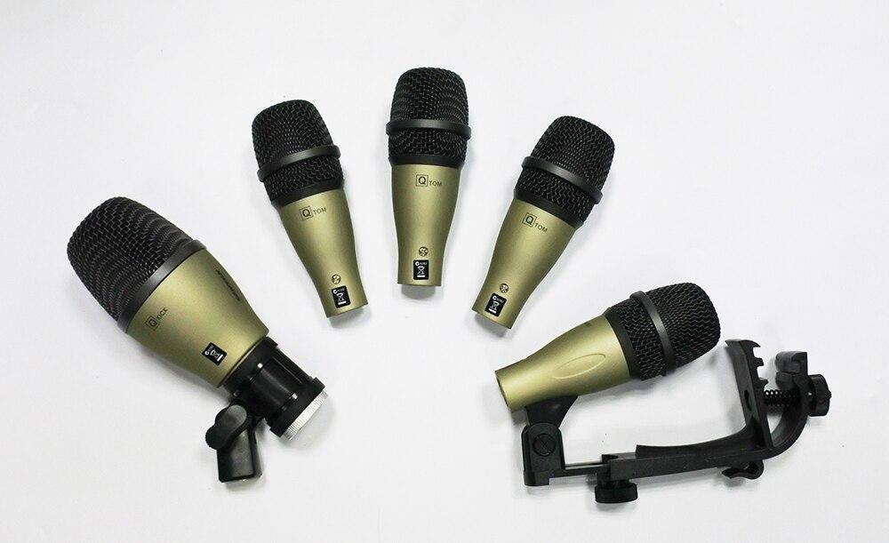 Q71 Q72 PGA56 PGA52 style kick snare tom bass drum kit instrument dynamic microphone