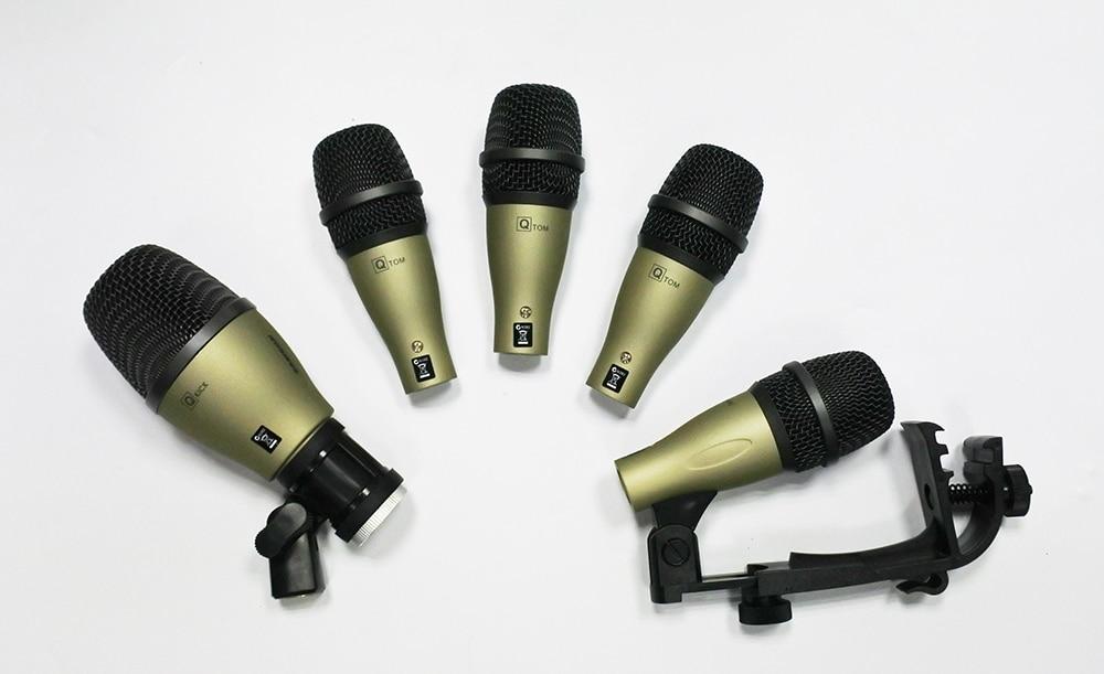Q71 Q72 PGA56 PGA52 สไตล์ kick snare tom เบสกลองชุดเครื่องดนตรีไมโครโฟนแบบไดนามิก-ใน ไมโครโฟน จาก อุปกรณ์อิเล็กทรอนิกส์ บน AliExpress - 11.11_สิบเอ็ด สิบเอ็ดวันคนโสด 1