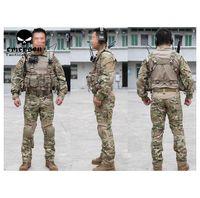 USMC A-TACS Camo Tactical Airsoft Uniformes EMERSON-II generación frog apretados trajes de combate de camuflaje ropa set