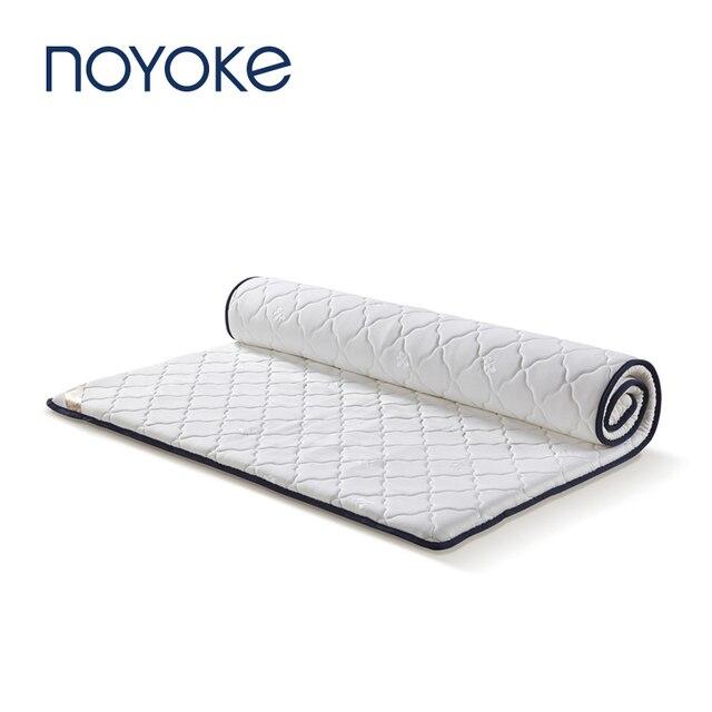 Mobília Do Quarto de Cama Colchão tatami NOYOKE Topper Colchão do Látex 1.2 m 1.5 m 1.8 m Cama