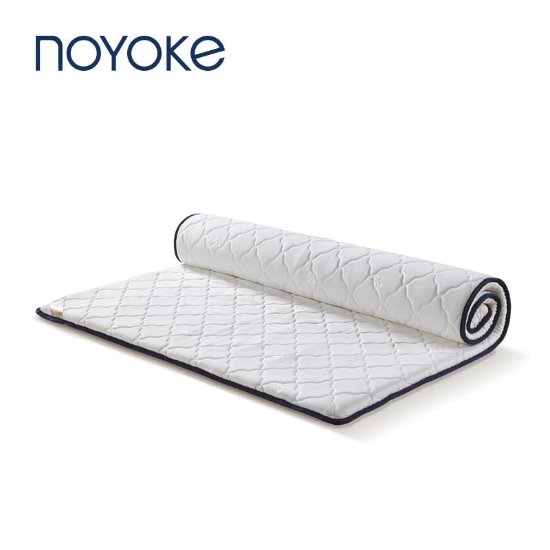 NOYOKE Mattress Bedroom Furniture Bed Latex Mattress Topper Tatami Massage Bed Sleeping Massage Matress Topper 4cm Thickness