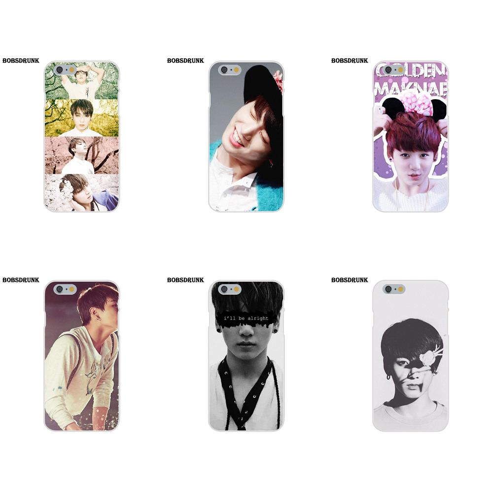 Clothes, Shoes & Accessories Phone Cases Bts Bangtan Boys Cute Cartoon For Iphone X 10 5 5s Se 6 6s 7 8 Plus High Quality Clear Soft Tpu Silicone Coque Cover