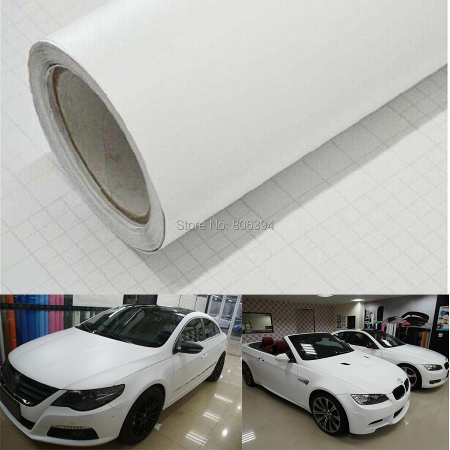 "*60/""x60/"" 3D Matte White Carbon Fiber Textured Car Vinyl Wrap Sticker Decal Film"