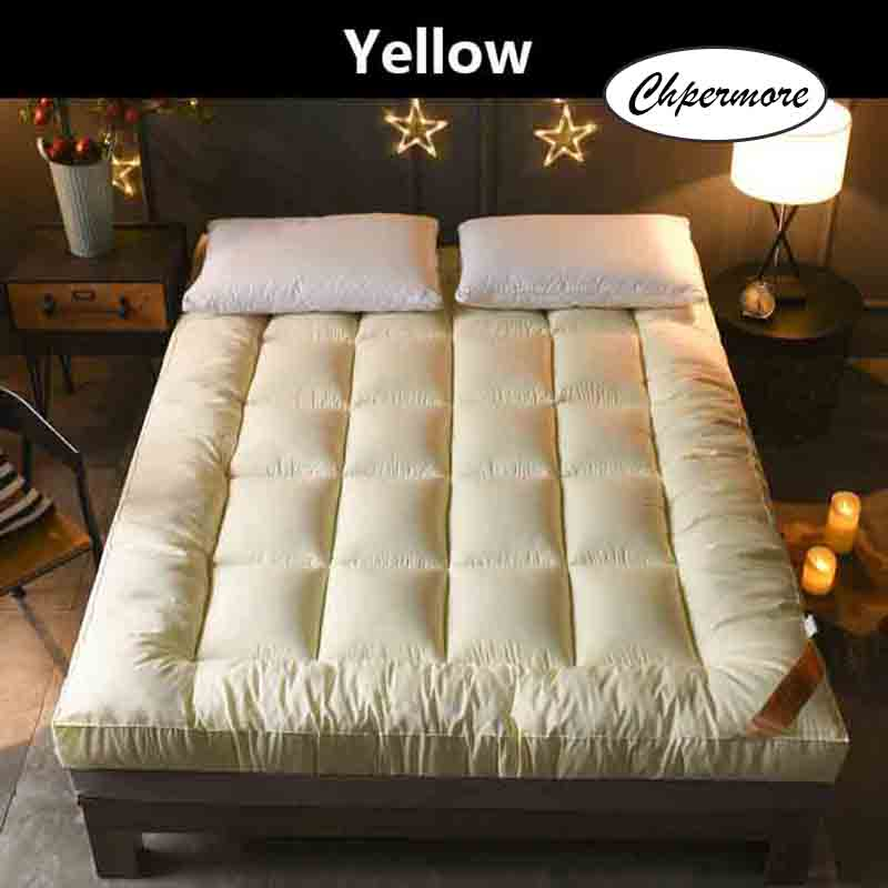 Image 3 - Chpermore Thicken Feather velvet Mattress five star hotel Foldable Tatami Single double Mattresses Cotton Cover King Queen Size-in Mattresses from Furniture