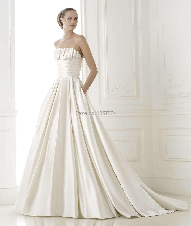 Großzügig Jahrgang Eine Linie Brautkleid Bilder - Hochzeit Kleid ...
