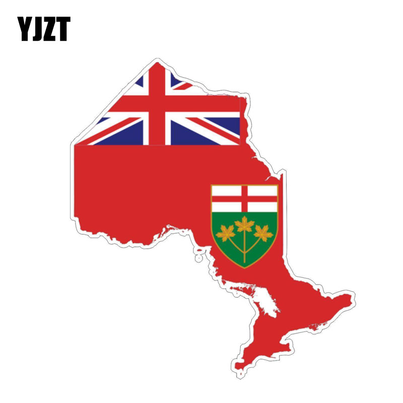 Sticker Saskatchewan Map Flag Decal