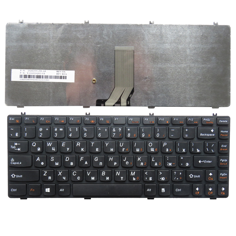 Russian keyboard FOR LENOVO Y470 Y470A Y470P Y470N y471 y471A Y471P RU laptop keyboard black With borderRussian keyboard FOR LENOVO Y470 Y470A Y470P Y470N y471 y471A Y471P RU laptop keyboard black With border