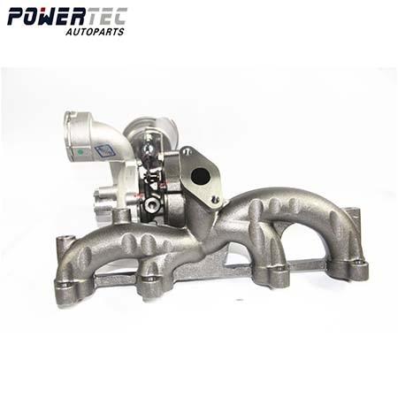 GT1749VB Turbine pour Bora Golf IV A3 1.9 TDI ARL 110 Kw 150 Hp-721021 plein turbo 721021- 5006 s complète turbolader 038253016GX