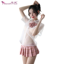 Sexy Lingerie Women Erotic For Sex Underwear Transparent Nightwear Ladies Costumes Babydoll Cosplay Dress Fantasy Clothing