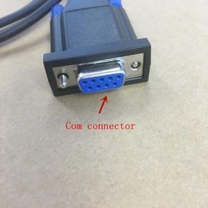 Image 3 - honghuismart Com connector programming cable for motorola PRO5150 GP328 GP340 GP380 GP640 GP650 GP680 GP960 etc walkie talkie