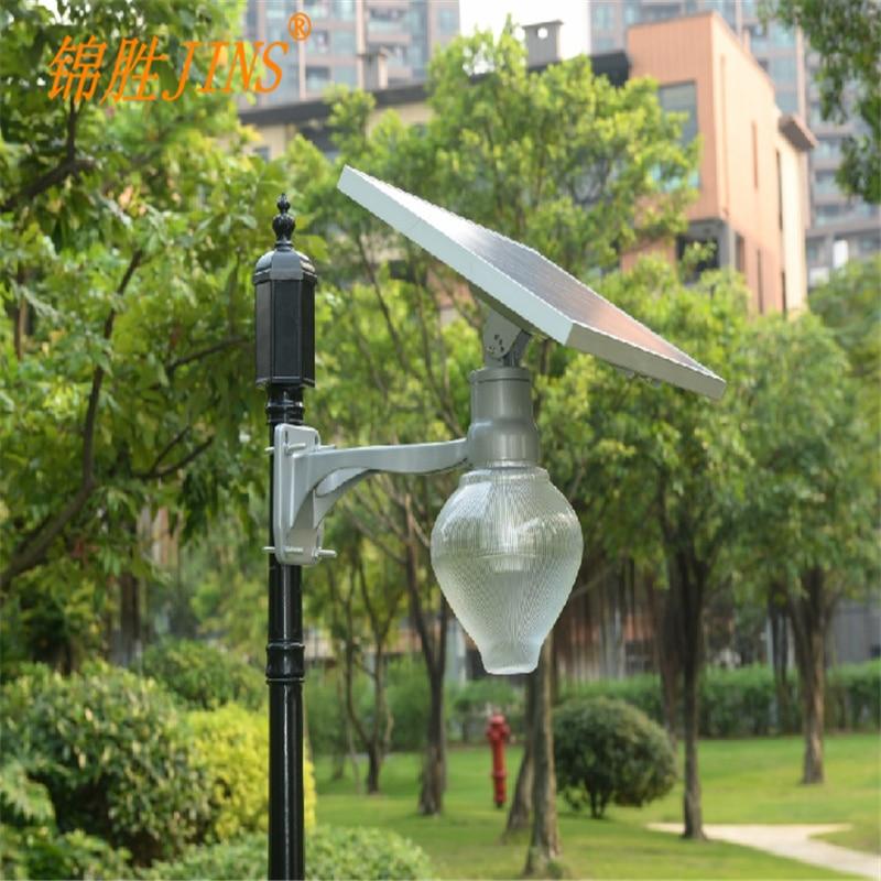 Lampes solaires de jardin induction + micro-onde radar contrôle inductif 9 W lampe à énergie solaire lampe nouvelle forme de pêche