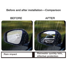 Rainproof Car Rearview Mirror Film Sticker
