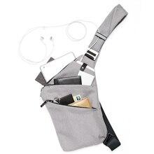 Men Crossbody Sling Bag Waterproof Shoulder Chest Back Pack Anti Theft Sash  Bags Pouch ASD88( 81e5d85efeab