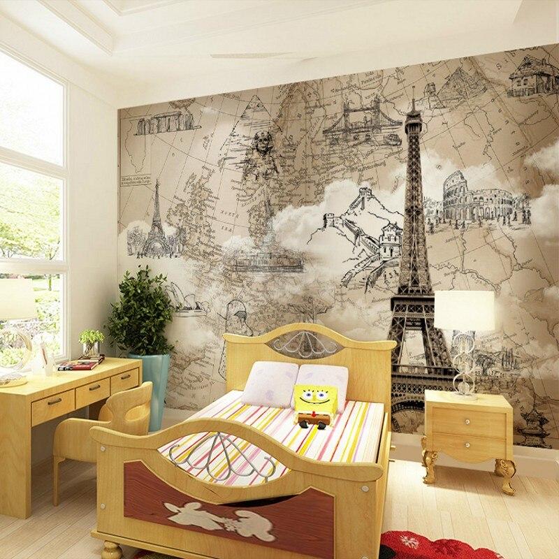 Photo Wallpaper 3d Custom Large Cartoon Mural Children S Room