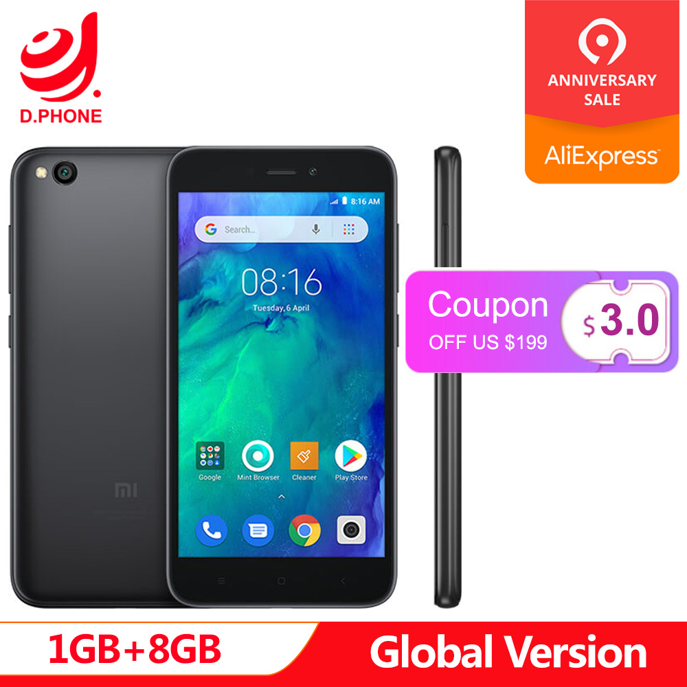Ursprüngliche Globale Version Xiaomi Redmi GEHEN 1 GB 8 GB Telefon Snapdragon 425 Quad Core 5,0