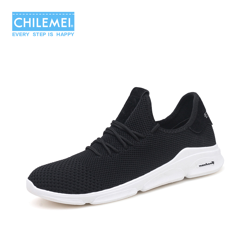 2018 New Mens Shoes Mesh Breathable Summer Shoes Fashion Sneakers Fly Weaving Light Soft Bottom Youth Free Style Lace Up School