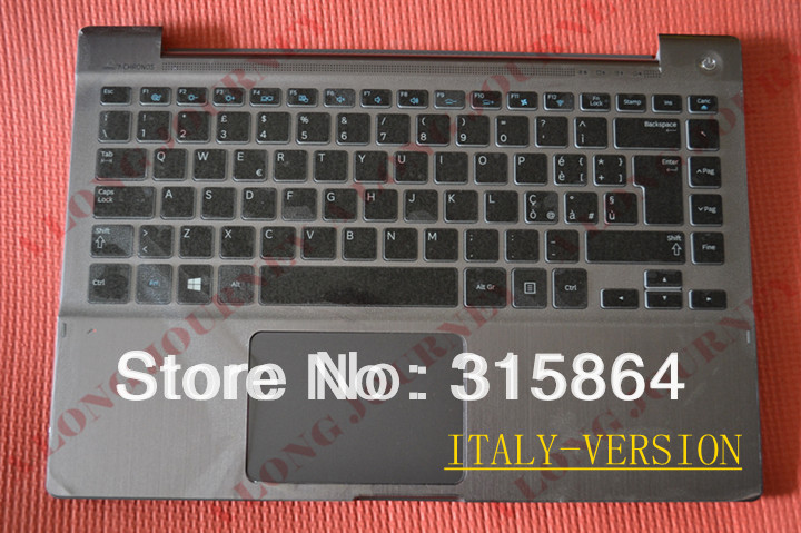NEW laptop Keyboard with c shell for SAMSUNG Series 7 Chronos Np-700z3a Np700z3a Np-700z3ah GR/IT/RU/UK/US/Hungary VERSION