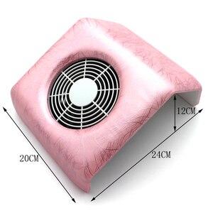 Image 4 - 110 v/220 V Nail salon artystyczny odkurzacz Manicure zgłoszenia akrylowe UV Gel Tip maszyna odkurzacz narzędzie jak z salonu