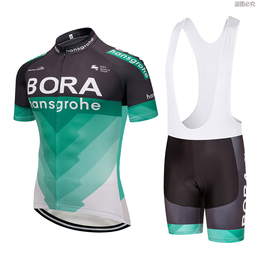 UCI 2018 Bora Ciclismo ropa bici Jersey ropa mens bi Ciclismo Jersey manga corta pro Camisetas de ciclismo pone en cortocircuito conjunto