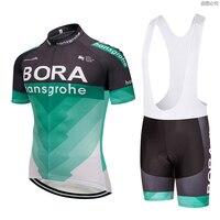 UCI 2018 Bora Cycling Clothing Bike Jersey Ropa Mens Bicycling Jersey Short Sleeves Pro Cycling Jerseys