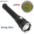 2016 NEW CREE XHP50 4000Lm LED Diving Flashlight underwater support stepless dimming waterproof 100M diving tactical flashlight