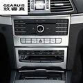 Автомобильный Стайлинг интерьера кондиционер CD панель украшение Накладка для Mercedes Benz E Class Coupe W207 C207 автомобильные аксессуары