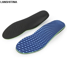 Orthopedic Insoles Arch Support Running Sports Insole Sweat Breathable Shock-absorbing No Slip Shoe Accessoires