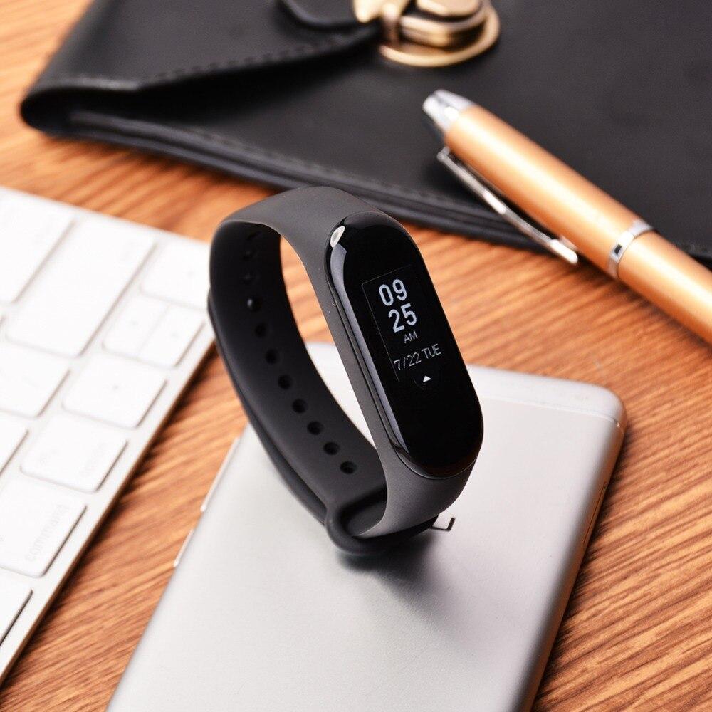 "Original Mi Band 3 Fitness Tracker Smart Bracelet 0.78""Color Screen 5ATM Waterproof Heart Rate Monitor Global Smartband In Stock 13"