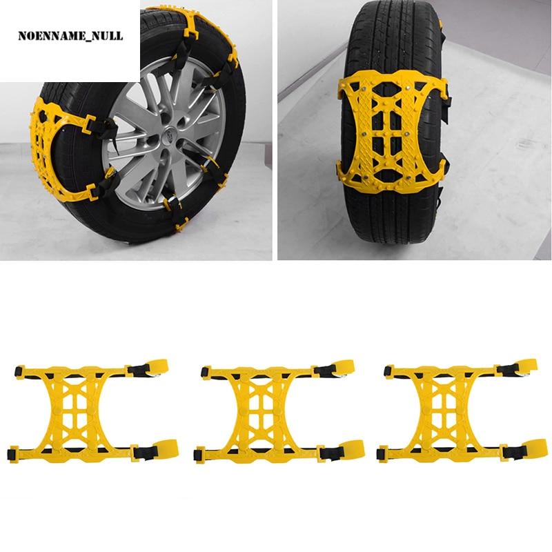 NoEnName_Null Heißer 1PC Winter Lkw Auto Schnee Kette Reifen Anti-skid Gürtel Einfache Installation
