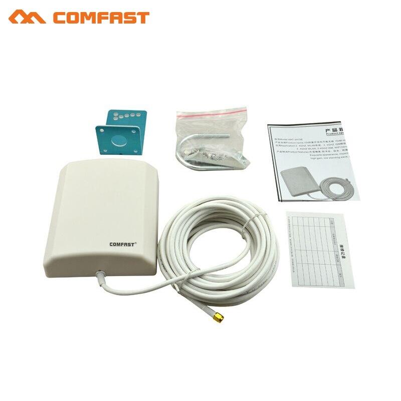 10 м внешний кабельной линии 2.4 ГГц 10dbi на открытом воздухе Беспроводной Wi Fi адаптер Long Distance усилитель Extender Wi-Fi мягкий AP маршрутизатор антенны