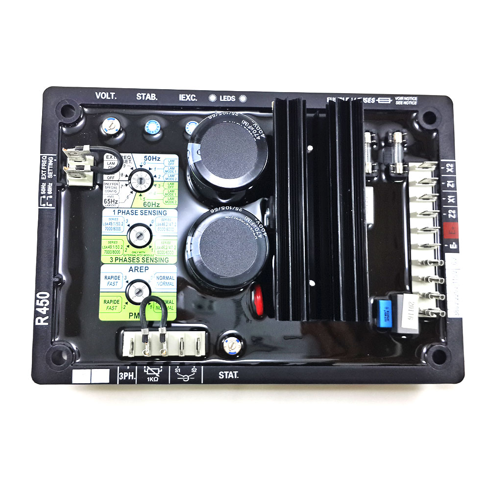 R450 AVR For Leroy Somer Alternator,R450 Alternator Voltage Regulator avr 20 alternator voltage regulator